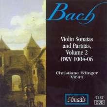 Bach / Edlinger: Violin Sonatas & Partitas 2, CD