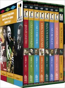 Jazz Icons Series 4 (Box-Set), 8 DVDs