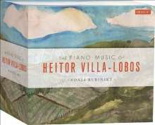 Heitor Villa-Lobos (1887-1959): Sämtliche Klavierwerke, 8 CDs