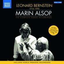 Leonard Bernstein (1918-1990): Marin Alsop conducts Bernstein - The Complete Naxos Recordings, 9 CDs