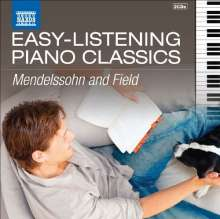"Naxos ""Easy-Listening Piano Classics"" - Mendelssohn & Field, 2 CDs"