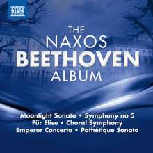 The Naxos Beethoven Album, CD