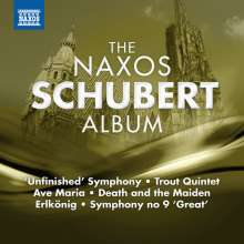 The Naxos Schubert Album, CD
