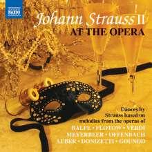Johann Strauss II (1825-1899): Johann Strauss at the Opera, CD