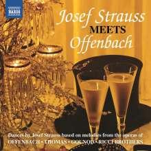 Josef Strauss (1827-1870): Josef Strauss meets Offenbach, CD