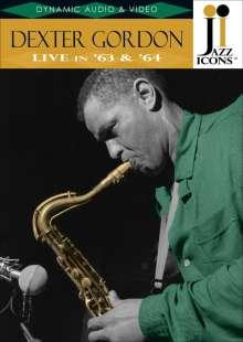 Dexter Gordon (1923-1990): Live In '63 & '64, DVD