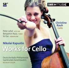 Nikolai Kapustin (1937-2020): Werke für Cello, CD