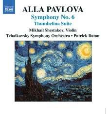 Alla Pavlova (geb. 1952): Symphonie Nr.6, CD