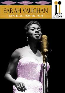 Sarah Vaughan (1924-1990): Live In '58 & '64, DVD