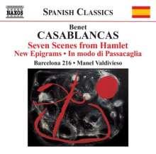 Benet Casablancas (geb. 1956): 7 Szenen aus Hamlet (1989), CD