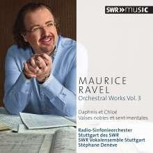 Maurice Ravel (1875-1937): Orchesterwerke Vol.3, CD