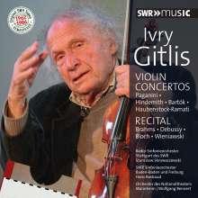 Ivry Gitlis - Concertos / Recital, 2 CDs