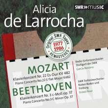 Alicia de Larrocha - Mozart / Beethoven, CD
