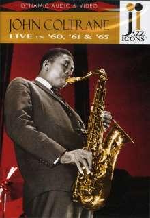 John Coltrane (1926-1967): Live In '60,'61 & '65, DVD