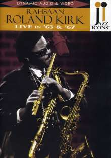 Rahsaan Roland Kirk (1936-1977): Live In '63 & '67 (Jazz Icons), DVD