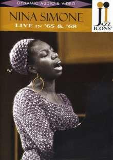 Nina Simone (1933-2003): Live In '65 & '68 (Jazz Icons), DVD