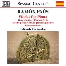 Ramon Paus (geb. 1956): Klavierwerke, CD
