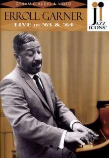 Erroll Garner (1921-1977): Live In '63 & '64 (Jazz Icons), DVD