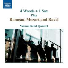 Vienna Reed Quintet - 4 Woods + 1 Sax Play Rameau,Mozart and Ravel, CD