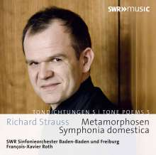 Richard Strauss (1864-1949): Sinfonia Domestica op.53, CD