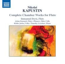 Nikolai Kapustin (geb. 1937): Kammermusik für Flöte, CD