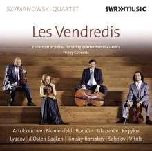 Szymanowski Quartet - Les Vendredis, CD