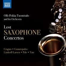 Olli-Pekka Tuomisalo - Lost Saxophone Concertos, CD