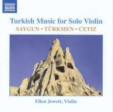 Ellen Jewett - Turkish Music for Solo Violin, CD