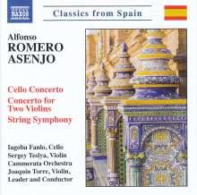 Alfonso Romero Asenjo (geb. 1957): String Symphony, CD