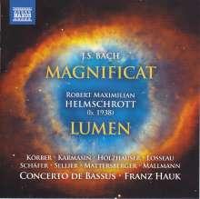 Robert M. Helmschrott (geb. 1938): Lumen für Soli,Chor,Orchester, CD