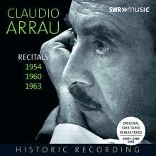 Claudio Arrau - Recitals 1954, 1960, 1963, 5 CDs