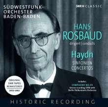 Hans Rosbaud dirigiert Haydn, 7 CDs
