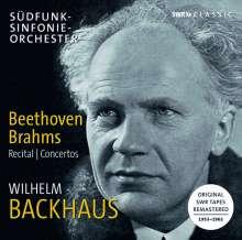 Wilhelm Backhaus - Beethoven / Brahms, 3 CDs