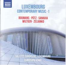 Luxembour - Contemporary Music Vol.1, CD
