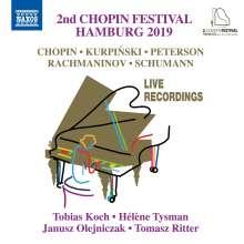 Zweites Chopin-Festival Hamburg 2019, CD