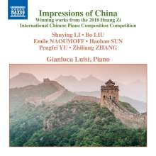 Gianluca Luisi - Impressions of China, CD