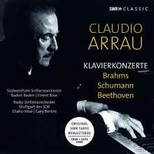 Claudio Arrau - Klavierkonzerte (SWR-Aufnahmen 1969-1980), 3 CDs