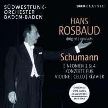 Hans Rosbaud dirigiert Schumann, CD