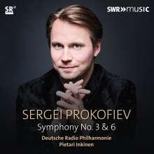 Serge Prokofieff (1891-1953): Symphonien Nr.3 & 6, CD