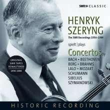 Henryk Szeryng plays Concertos, 5 CDs