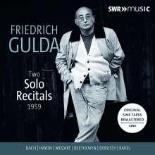 Friedrich Gulda - Two Solo Recitals, 3 CDs