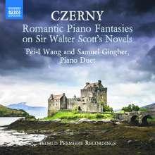 Carl Czerny (1791-1857): Romantische Fantasien Nr.1-4 (op.240-243) für Klavier 4-händig, CD