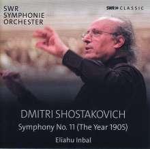 """Dmitri Schostakowitsch (1906-1975): Symphonie Nr.11 """"1905"""", CD"""