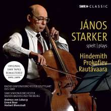 Janos Starker - spielt Hindemith / Prokofieff / Rautavaara, CD