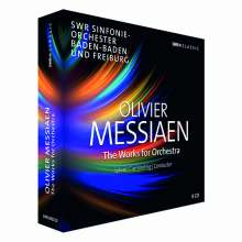 Olivier Messiaen (1908-1992): Orchesterwerke, 8 CDs
