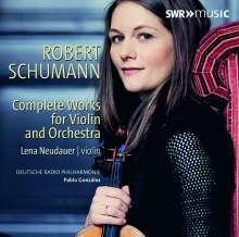 Robert Schumann (1810-1856): Werke für Violine & Orchester, CD