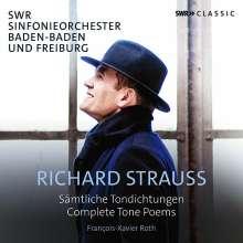 Richard Strauss (1864-1949): Sämtliche Tondichtungen, 5 CDs