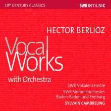 Hector Berlioz (1803-1869): Vokalwerke mit Orchester, CD