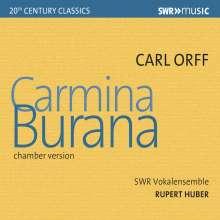 Carl Orff (1895-1982): Carmina Burana (Kammerversion), CD