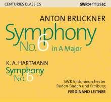 Karl Amadeus Hartmann (1905-1963): Symphonie Nr.6, CD